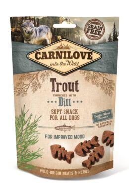 Carnilove Dog Semi Moist Snack ponty kakukkfűvel 200g