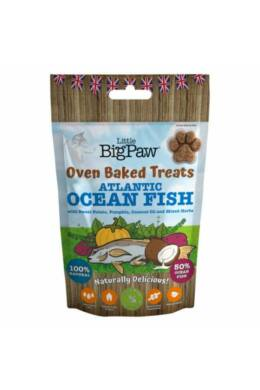 Little BigPaw Ocean Fish, Potato, Pumpkin, Coconut & Herbs Jutalomfalat 130g