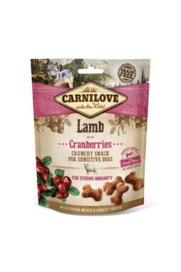 Carnilove Dog Crunchy Snack Lamb & Cranberries- Bárány Hússal és Vörös Áfonyával 200g