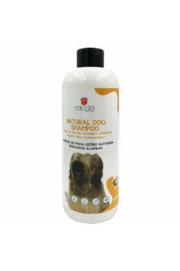 Waff kifésülést segítő natúr kutyasampon hosszú és puha szőrre – kókusz