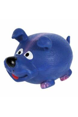 Sípoló kék latex kutya