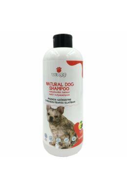 Waff natúr mélytisztító kutyasampon antibakteriális, piszkos szőrre kutyáknak – teafa és citrus olajjal