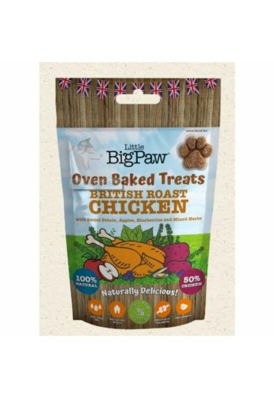 Little BigPaw Chicken,Potato, Apples, Blueberries & Herbs Jutalomfalat 130g