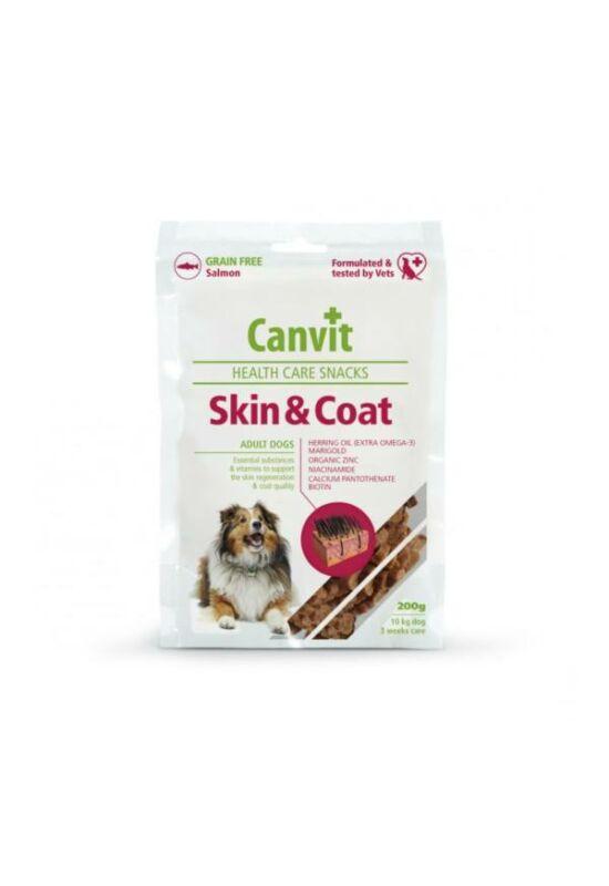 Canvit Jutalomfalat Kutyáknak Skin & Coat 200 G