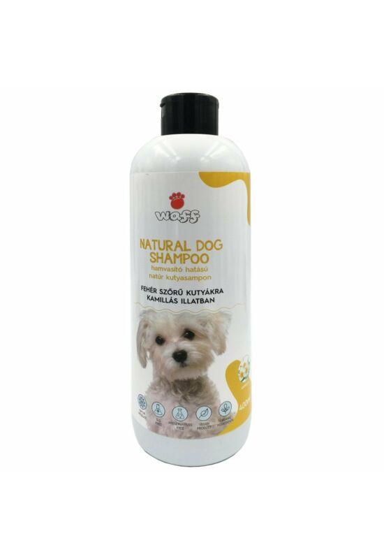 Waff natúr kutyasampon fehér szőrre – kamillás