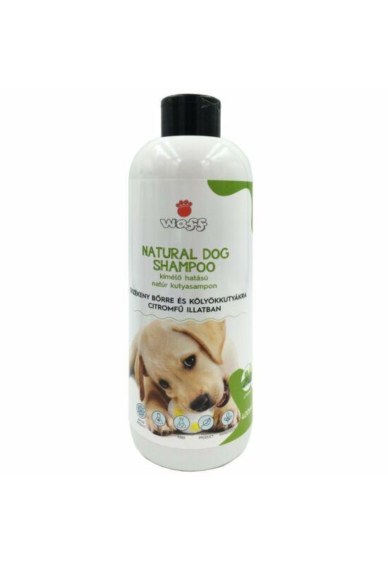 Waff natúr kutyasampon érzékeny bőrre és  kölyökkutyáknak – citromfű